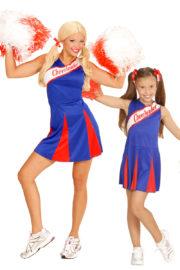 déguisements couples, déguisements cheerleader, déguisements pompom girl, déguisement couple cheerleader, déguisement couple pompom girl Déguisement Couple Cheerleader, Mère et Fille