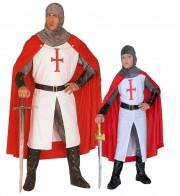 déguisements couples, déguisements duos, déguisements chevaliers Chevalier Croisé et Chevalier Croisé Kid