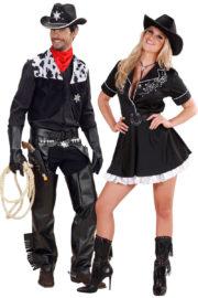 déguisements couples, déguisements cowboys, déguisements farwest, déguisement couple de cowboys Déguisement Couple de Cowboys