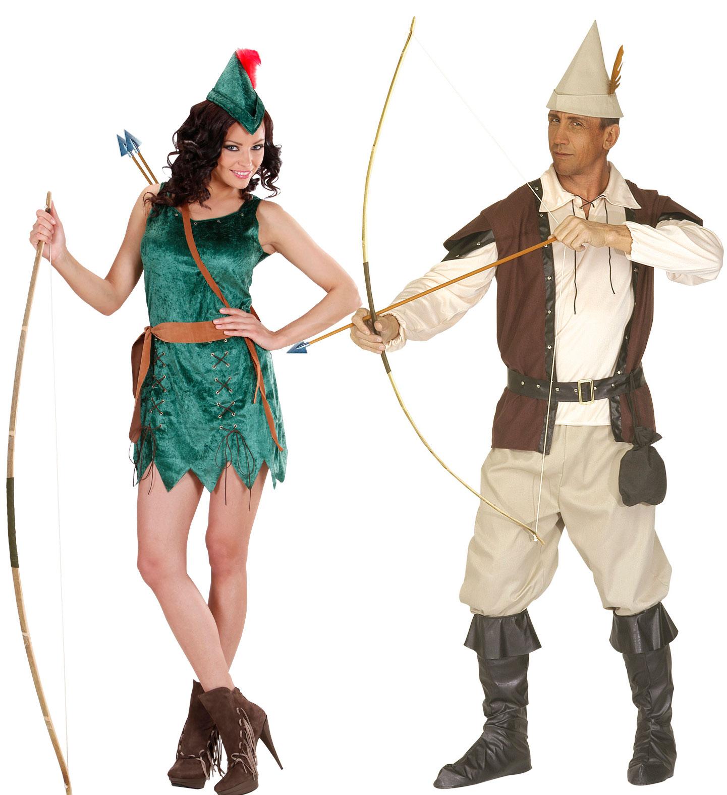 Couple Robin 2 Aux Feux De La F Te Paris ~ Déguisement Robin Des Bois Femme Adulte