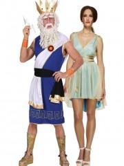 Dieu Grec Zeus et Déesse Grecque