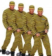 déguisements dalton, déguisements groupes Dalton, Joe, William, Jack et Averell