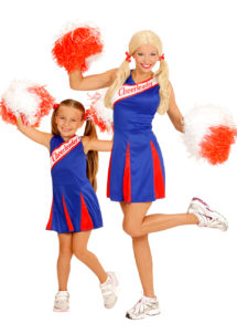 déguisements couples, déguisements cheerleader, déguisements pompom girl, déguisement couple cheerleader, déguisement couple pompom girl, Déguisements Couple, Cheerleader, Mère et Fille