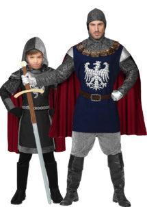 déguisements couples, déguisements chevaliers, déguisements médiéval, Déguisements Couple, Chevaliers, Père et Fils