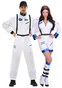 DEGUISEMENT-COUPLE-ASTRONAUTE, Déguisements Couple, Astronautes