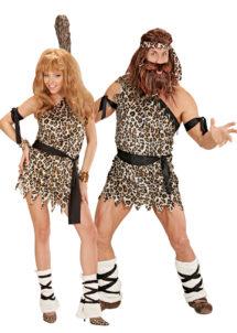 déguisements couples, déguisement couple cromagnon, déguisements homme et femme des cavernes, Déguisements Couple, Cromagnon et Primitive