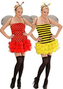 déguisement couple, abeille et coccinelle, Déguisements Couple, Abeille et Coccinelle