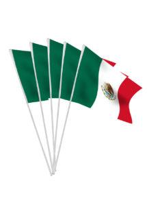 drapeau du mexique, drapeau de table mexique, coupe du monde, Drapeau du Mexique x 10, Drapeaux de Table
