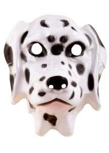masque dalmatien, masque de chien dalmatien, masque animal plastique, masque chien plastique, masque de chien pour enfant, Masque de Dalmatien