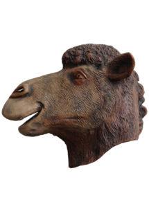 masque chameau, masque dromadaire, masque animal latex, masques d'animaux latex, Masque de Chameau, Latex
