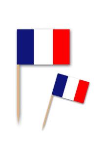 pics apéro drapeaux france, pics drapeau de la France, pics apéritifs drapeaux, Pics Drapeaux de la France