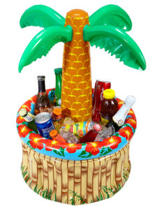 palmier rafraichisseur de boissons, hawaï, déco palmier, bassine à boissons, rafraichisseur de boissons, Palmier Rafraichisseur de boissons, Gonflable