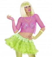 tutu déguisement pour femme, tutu vert, jupon vert, jupon femme, tutu femme déguisement, déguisement tutu, accessoire tutu déguisement, accessoire déguisement tutu vert fluo, tutu vert Tutu Jupon, Années 80, Vert