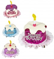 accessoire anniversaire, chapeau anniversaire, chapeau gâteau, clip cheveux anniversaire, accessoire déguisement, accessoire anniversaire déguisement Clip Pour Cheveux, Anniversaire