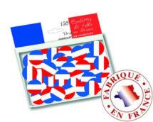 confettis france, décorations euro 2016, décoratio france, supporters france, supporters des bleus, boutique supporter france, décorations france, Confettis Drapeau France