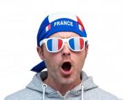 bandana france, drapeau france, drapeaux france, accessoires euro 2016, boutique de supporter, accessoires de supporter, Bandana France, à Nouer