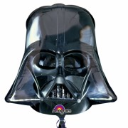 ballon hélium, ballon dark vador, ballon star wars, ballon super héros Ballon Aluminium, Masque Dark Vador, Star Wars