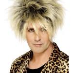 perruque pour homme, perruque pas chère, perruque de déguisement, perruque homme, perruque blonde , perruque années 80, perruque disco Perruque Années 80, Wild Boy, Blonde