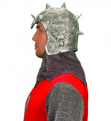 casque de chevalier, casque médiéval, chevalier médiéval, casques en latex, heaume de chevalier, casque chevalier paris Casque de Chevalier Médiéval en Latex