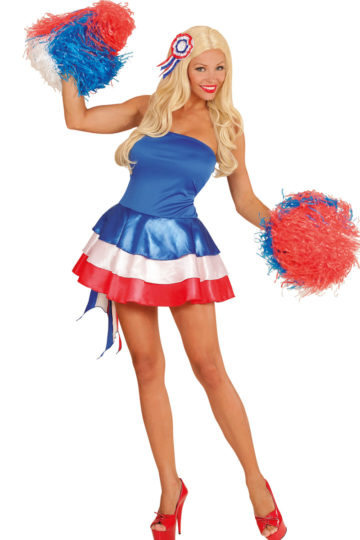 déguisement de miss france, déguisement france, pompom girl france, supporter france, supporter équipe de france, costume de miss france Déguisement Miss France