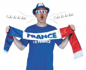 écharpe france, accessoires euro 2016, équipe de france, boutique de supporter, écharpe de supporter, écharpe euro 2016, accessoire france euro 2016 Echarpe de Supporter France