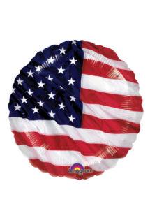 ballon hélium, ballon aluminium, ballon USA, ballon états unis, ballon drapeau américain, Ballon Drapeau Américain, en Aluminium