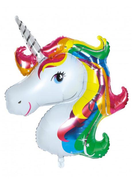 ballon hélium, ballon licorne, ballon anniversaire, Ballon Licorne Multicolore, en Aluminium