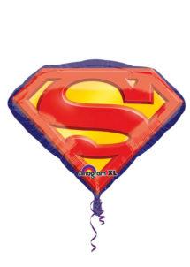ballon hélium, ballon superman, ballon aluminium, ballons pour enfants, ballons super héros, décorations super héros, Ballon Superman, en Aluminium