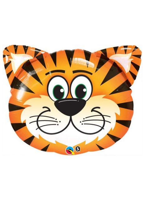 ballon hélium, ballon aluminium, ballon tigre, ballons animaux, ballons enfants, Ballon Toto le Tigre, en Aluminium