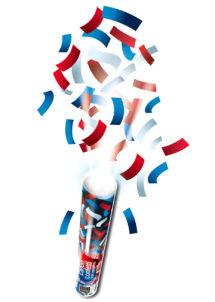 coupe du monde, décorations france, canon à confettis france, bleu blanc rouge, décorations france, décoration france, supporter france, supporter équipe de france, Canon à Confettis France, Bleu Blanc Rouge