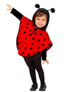 déguisement de coccinelle enfant, cape de coccinelle enfant, déguisement animaux enfants, déguisements filles, Déguisement de Bébé Coccinelle, Fille