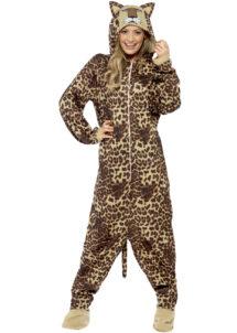 déguisement de léopard adulte, déguisement de léoparde, déguisement d'animal femme, costume léoparde femme, costume léoparde adulte, déguisement léopard adulte femme, Déguisement de Léoparde, Combinaison