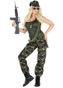 déguisement militaire, costume militaire femme, déguisement treillis militaire femme, Déguisement Militaire, Sexy Camouflage