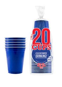 gobelets américains, red coups, original cup, Gobelets Américains, Bleus, Original Cup