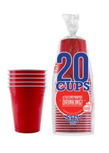 gobelets américains, red cups, original cup, Gobelets Rouges Américains, Original Red Cup