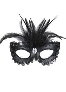 loup vénitien, masque vénitien, loup plumes, loup carnaval de venise, masque carnaval venise, masque plumes, Loup Galon, Pierre et Plumes