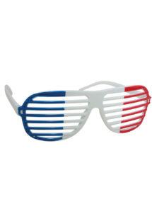 lunettes de déguisement, lunettes france, accessoire supporter france, coupe du monde, lunettes france, lunette drapeau français, Lunettes France, Store Bleu Blanc Rouge