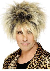 perruque années 80 homme, perruque homme, perruque blonde homme, perruque pétard homme, perruques pour homme, Perruque Années 80, Wild Boy, Blonde