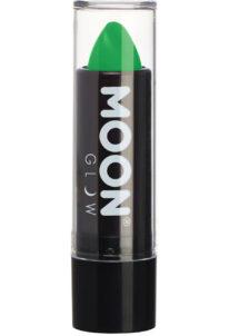 maquillage fluo, soirée fluo, rouge à lèvres fluo, accessoire soirée fluo déguisement, accessoire fluo déguisement, maquillage fluo, rouge à lèvres fluorescent, Rouge à Lèvres Vert Intense, Fluo