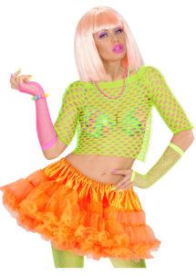 tutu déguisement pour femme, tutu orange, jupon orange, jupon femme, tutu femme déguisement, déguisement tutu, accessoire tutu déguisement, accessoire déguisement tutu orange fluo, tutu orange fluo, Tutu Orange, Jupon Années 80