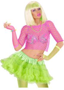 tutu déguisement pour femme, tutu vert, jupon vert, jupon femme, tutu femme déguisement, déguisement tutu, accessoire tutu déguisement, accessoire déguisement tutu vert fluo, tutu vert, Tutu Vert, Jupon Années 80