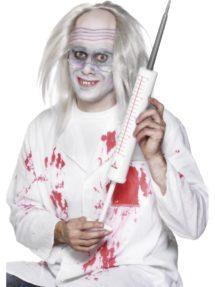 seringue géante, accessoire infirmière, fausse seringue, accessoires déguisements, Seringue Géante