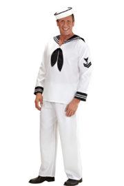 déguisement de marin homme, costume de marin, déguisement de matelot, costume de la marine, déguisement marine pour homme Déguisement Marin, Matelot Blanc