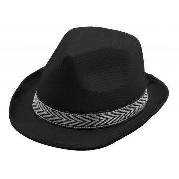 chapeau, borsalino, chapeaux borsalino, accessoires chapeaux, chapeaux paris, chapeaux forme année 30 Chapeau Borsalino Teddy, Noir