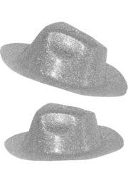 chapeaux à paillettes, chapeaux borsalino, chapeaux de fête, chapeaux paris, chapeaux pas cher, chapeaux années 30 Chapeau Borsalino Paillettes, Argent
