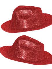 chapeaux à paillettes, chapeaux borsalino, chapeaux de fête, chapeaux paris, chapeaux pas cher, chapeaux années 30 Chapeau Borsalino Paillettes, Rouge