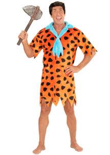 déguisement pierrafeu homme, déguisement pierre à feu, costume pierrafeu, déguisement humour, déguisement dessin animé, déguisement cro magnon homme, déguisement primitif homme, Déguisement Cromagnon Pierrafeu