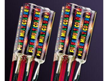feux d'artifices, fusées, fusées reflet, achat feux d'artifices paris, feux d'artifices ardi Feux d'Artifices, Fusées Multicolores
