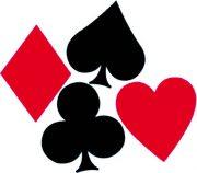déco poker, décoration cartes, décorations poker Décoration Casino, Trèfle, Carreau, Coeur, Pique, GM