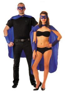 accessoire héros, accessoire de super héros, kit de super héros, cape de héros, accessoire déguisement héros, accessoire super héros déguisement, Kit de Héros, Bleu